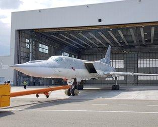Rusyanın yeni bombardıman uçağı tanıtıldı