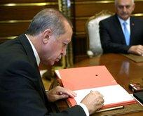 Erdoğan o bölgeleri hassas alan ilan etti