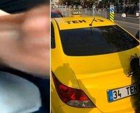 Turisti taciz eden taksici için karar!