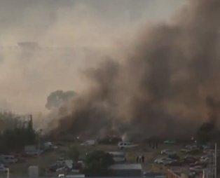 Son dakika: İzmir'de otluk alanda yangın!