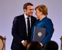 Merkel'den Macron'a iğrenç teklif