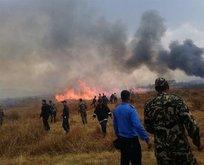 Nepalde yolcu uçağı düştü