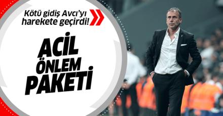 Beşiktaş'ta kötü gidiş Avcı'yı harekete geçirdi! Radikal kararlar almaya hazırlanıyor...