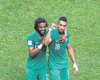 Suudi Arabistan 90da kazandı