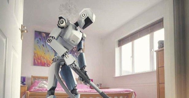Robotlar iş başında