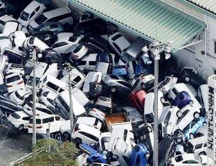 Japonyada Jebi tayfunu hayatı felç etti