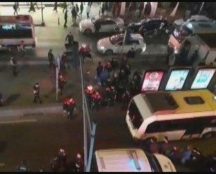 Metroda 18 yaşındaki genç kıza cinsel taciz