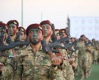 Suriye Milli Ordusu'nun bordo berelileri!