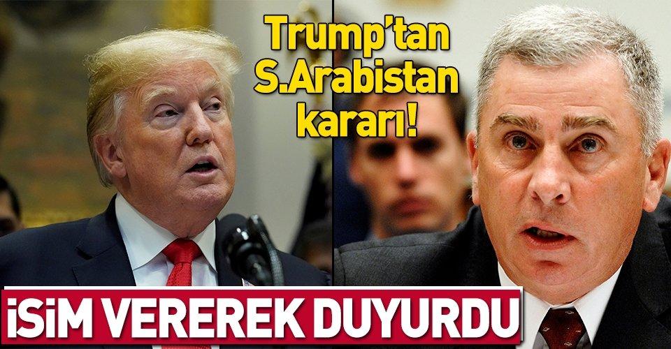 Trump, Suudi Arabistan Büyükelçisi adayını açıkladı