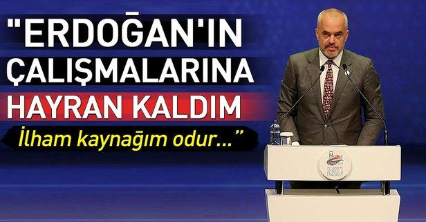 Erdoğan'ın çalışmalarına hayran kaldım