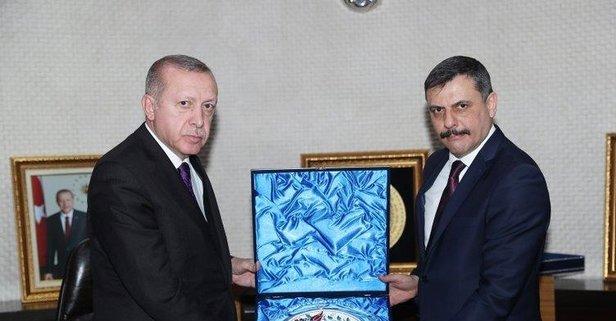 Başkan Erdoğan, Vali Çiftçi'yi kabul etti