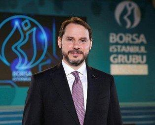 Hazine ve Maliye Bakanı Berat Albayrak 'tatlı rekabet'i tebrik etti: Harikasınız
