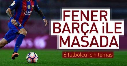 Fener Barça ile masada