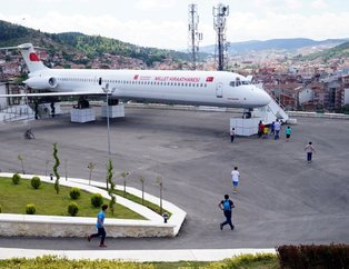 Kastamonu'da Boeing 737 tipi yolcu uçağı Millet Kıraathanesi oldu
