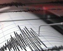 Ege Denizinde deprem!