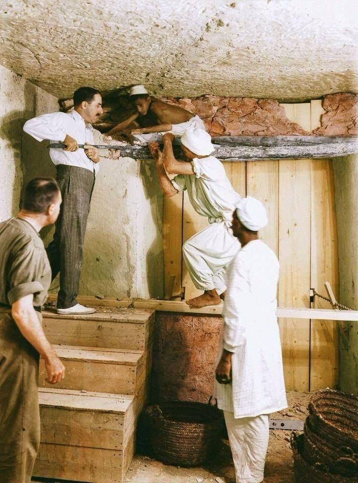 Tutankamonun mezar odasını ilke kez göreceksiniz!