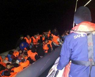 İzmir'de 113 kaçak göçmen yakalandı!