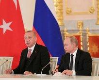 Erdoğan ve Putin'den Rusya'da kritik mesajlar