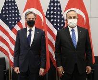 Bakan Çavuşoğlu ABD'li mevkidaşıyla bir araya geldi