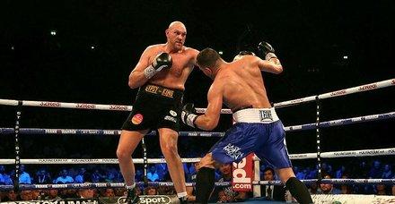 Tyson Fury ringlere geri döndü
