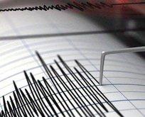 Datça'da korkutan deprem!