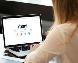 Yerli arama motoru Yaani'nin web sürümü yayınlandı