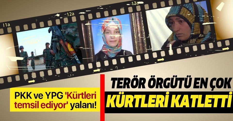 PKK ve YPG 'Kürtleri temsil ediyor' yalanı | Terör örgütü en çok Kürtleri katletti