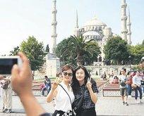 Japon turist rekora uçacak