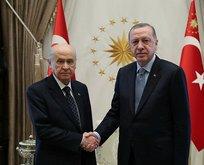 Erdoğan-Bahçeli görüşmesinin perde arkası belli oldu