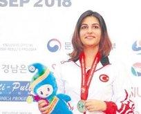 Şevval Tarhan atıcılıkta altın madalya aldı