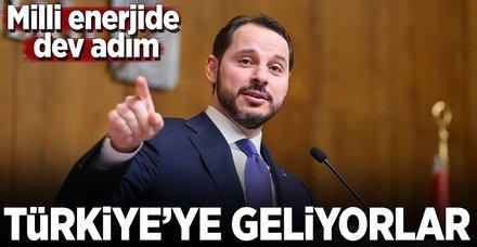 Enerji devleri Türkiye'de buluşuyor!
