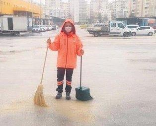 CHP'li belediye işten atamadığı kadın personeli süpürgeli temizliğe gönderdi!
