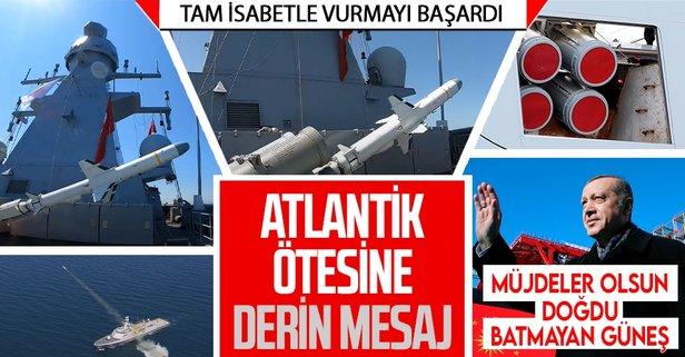 Başkan Erdoğan'dan füze müjdesi