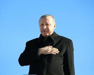 Başkan Erdoğan: Büyük bir gayretle zafere koşacağız