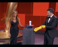 Televizyon Oscarları 'bulaşık eldivenli' törenle sahiplerini buldu
