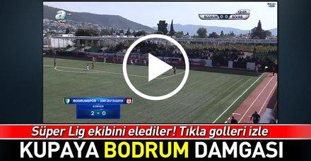Sivasspora kupada Bodrumspor şoku!