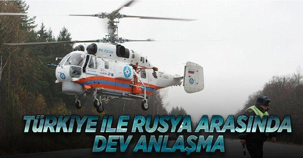 Rusya ve Türkiye, Ka-32 helikopter anlaşmasını imzaladı