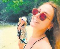 Kız kıza tatil keyfi
