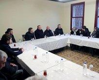 Başkan Erdoğan'dan Olçok ailesine taziye ziyareti