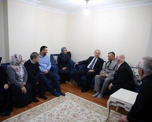 Erdoğandan 15 Temmuz gazisine ziyaret