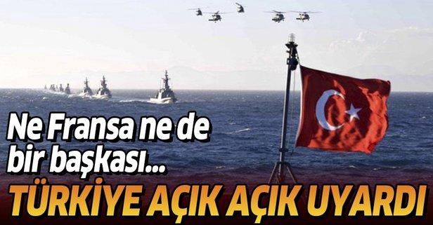Atina'ya Yunan gazetesi üzerinden mesaj