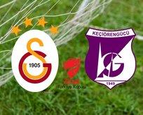 Galatasaray Keçiörengücü maçı hangi kanalda? ZTK GS Keçiörengücü maçı ne zaman, saat kaçta?