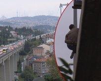 15 Temmuz köprüsünde intihar girişimi!