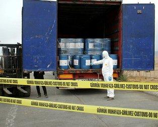 Gürbulak Sınır Kapısı'nda 18.4 ton siyanür ele geçirildi!
