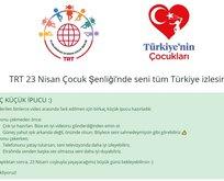 TRT 23 Nisan video gönderme ekranı! 2020 TRT 23 Nisan şenliklerine nasıl video gönderilir?