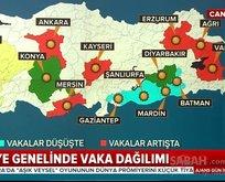 Yetkililer tek tek açıkladı!  İşte Türkiye genelinde vaka dağılımı…
