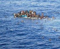 Göçmenleri taşıyan tekne battı: Acı haber