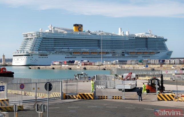 Son dakika: İtalya'da koronavirüs alarmı! 7 bin kişi taşıyan gemi karantinaya alındı