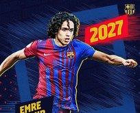 Kaderini 'Barça'ladı