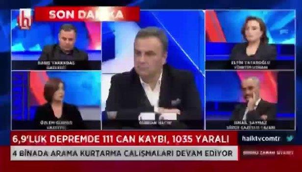 CHP'nin kanalı Halk TV'de Özlem Gürses'in AK Parti ve Joe Biden'la ilgili sözlerine İsmail Saymaz bile inanmadı videosunu izle | Takvim TV